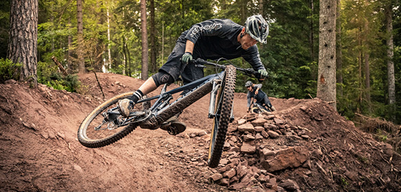 FOCUS El-sykkel Fulldempet