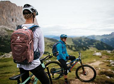 Ryggsekker for trailsykling